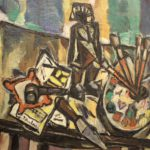 Isaac Pailes, French Ukrnian, 1895-1978, Abstract Still Life