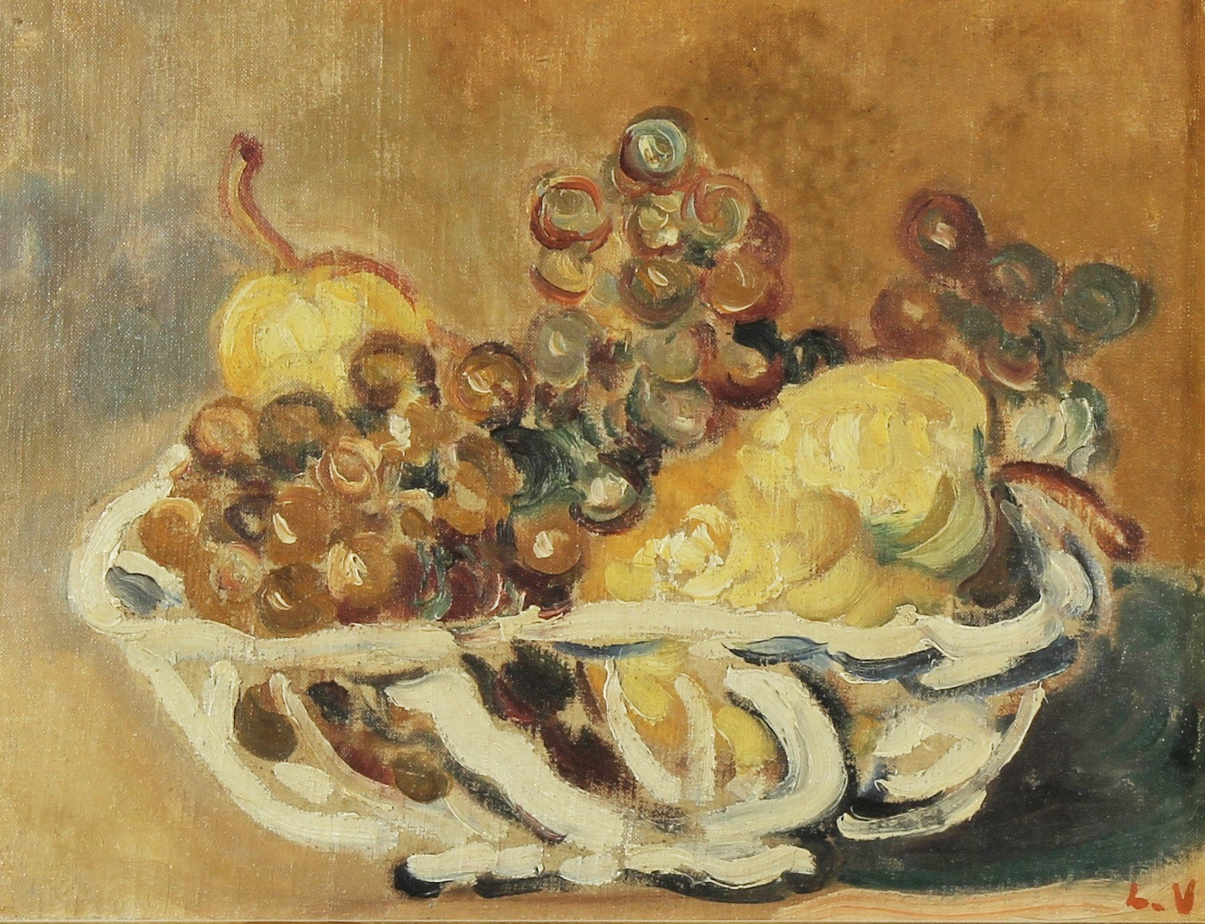 Louis Valtat, French, Still Life With Fruit, Estimate $15-25,000