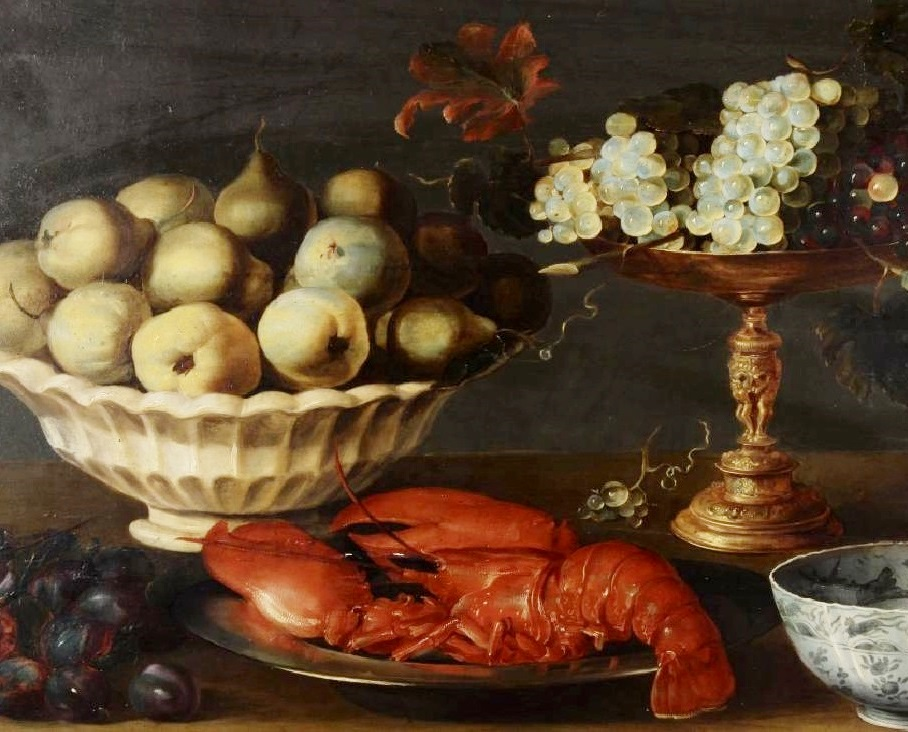 Circle Of Frans Snyder, 17th C. Still Life, Oil On Panel. Sold For $16,250