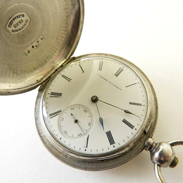 165. E. Howard & Co Coin Silver Pocket Watch