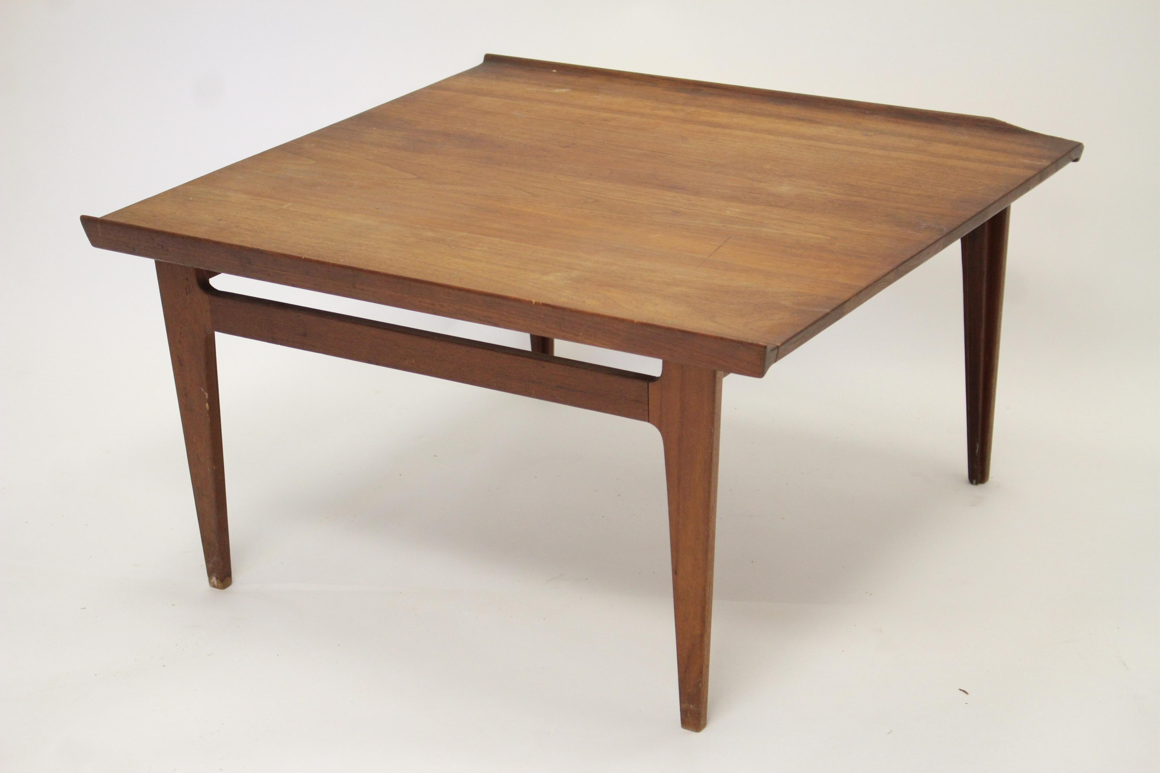 1105. Finn Juhl Teak Coffee Table For France 1958-59