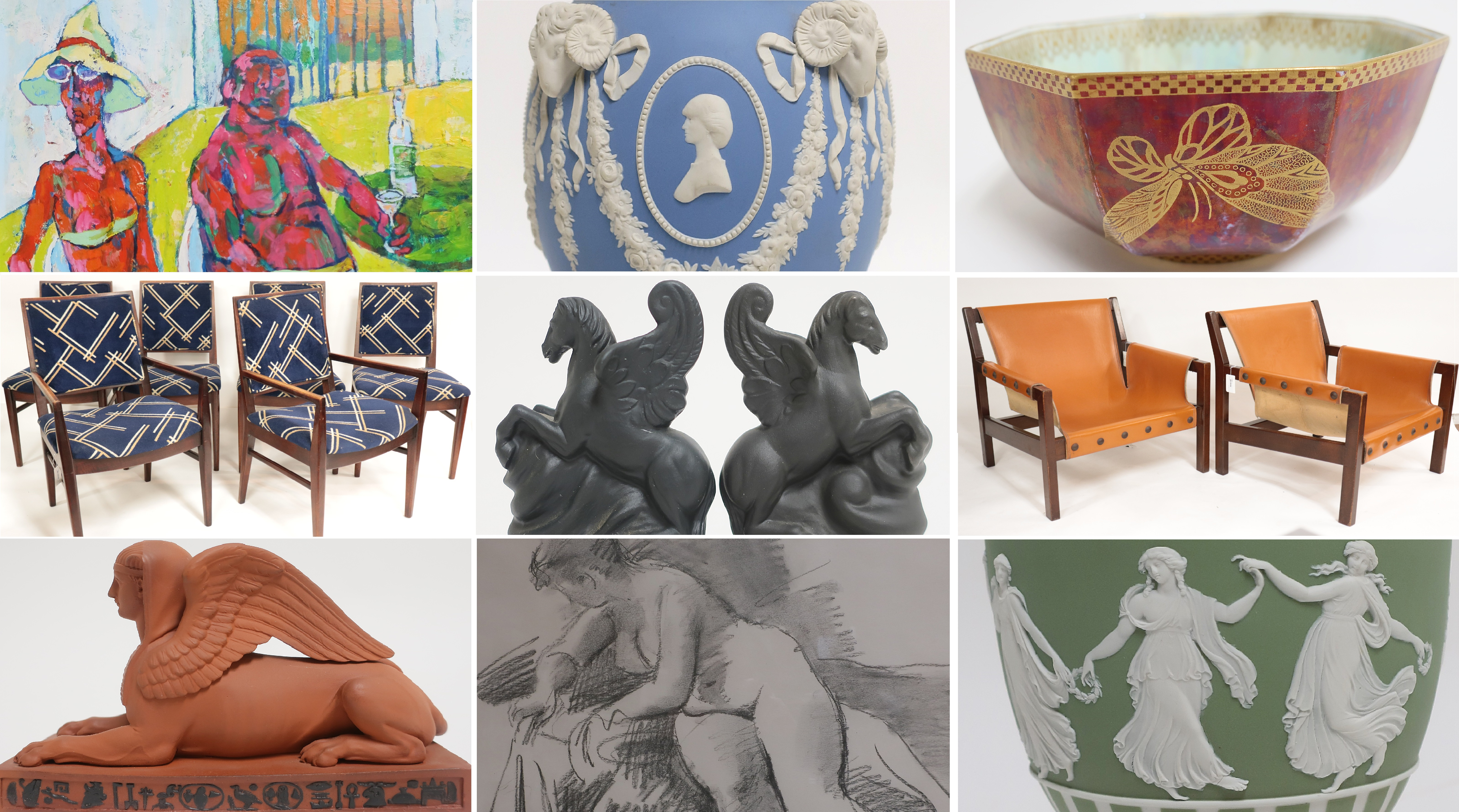 Ended. Spring Auction | 20th C. Design, Antiques & A Major Wedgwood Collection